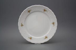 Flat plate 24cm Opera Tea roses BB