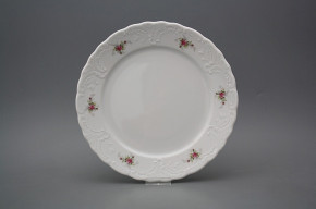 Flat plate 24cm Opera Pink roses BB