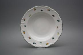Deep plate 23cm Maria Louise Sprays AZL