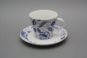 Cup high 0,2l with saucer Tom Blue Persia BB