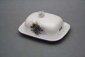 Butter dish small Rokoko Provence FL