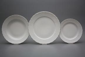 Plate set Opera Platinum 12-piece