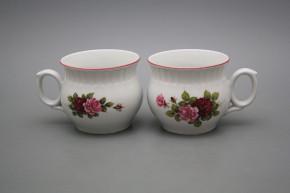 Mug Darume 0,29l Elizabeth rose RL