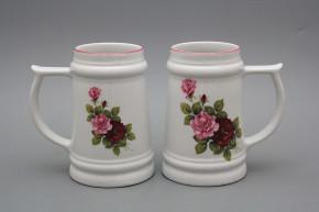 Beer mug 0,4l Elizabeth rose RL