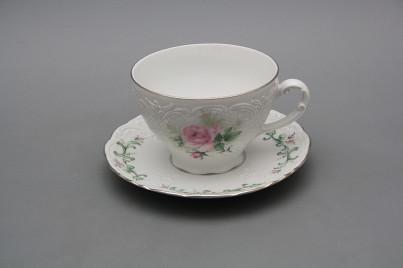 Tea cup 0,17l and saucer Opera Claremont PL č.1