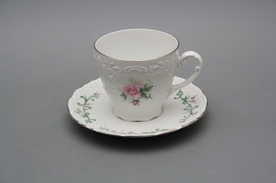Coffee cup 0,15l and saucer Opera Claremont PL č.1