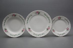 Plate set Opera Claremont 12-piece PL