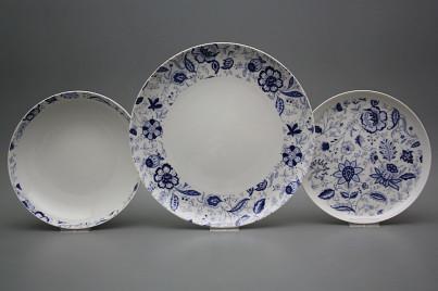 Plate set Tom Blue Persia 18-piece BB č.1