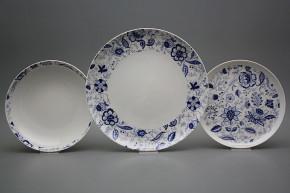 Plate set Tom Blue Persia 24-piece BB