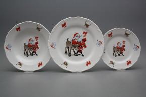 Plate set Ofelia Santa 18-piece FBB