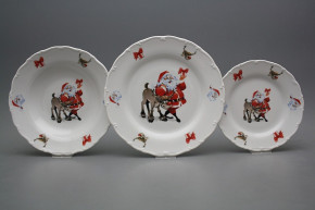 Plate set Ofelia Santa 12-piece FBB