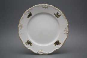 Flat plate 25cm Marie Louise Gamekeepers AGL