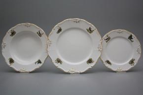 Plate set Marie Louise Gamekeepers 36-piece AGL