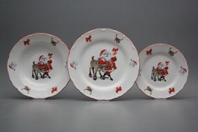 Plate set Ofelia Santa 24-piece FCL