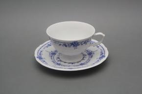 Tea cup 0,18l and saucer Maria Teresa Royal Blue BB
