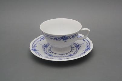Tea cup 0,18l and saucer Maria Teresa Royal Blue BB č.1