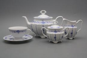 Tea set Maria Teresa Royal Blue 15-piece BB