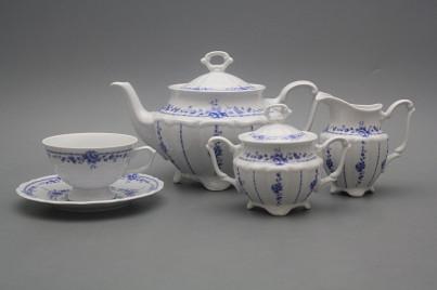 Tea set Maria Teresa Royal Blue 15-piece BB č.1