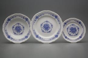 Plate set Maria Teresa Royal Blue 36-piece BB