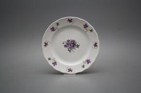 Dessert plate 19cm Rokoko Violets JBB