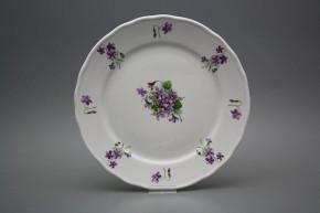 Flat plate 26cm Rokoko Violets JBB
