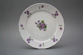 Flat plate 26cm Rokoko Violets JFL