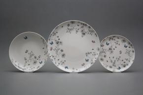 Plate set Tom Secret Garden 12-piece BB