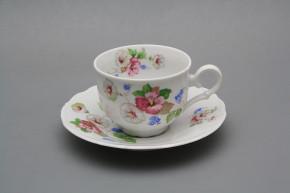 Tea cup 0,18l with saucer Ofelia Lydia BB