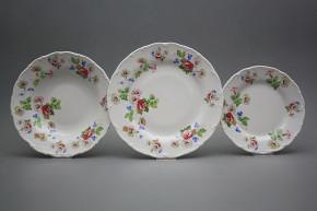 Plate set Ofelia Lydia 18-piece KBB