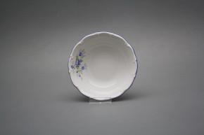 Salad dish 13cm Ofelia Light blue roses DHL
