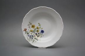 Deep plate 23cm Ofelia Flowering meadow HBB