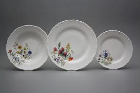Plate set Ofelia Flowering meadow 18-piece HBB