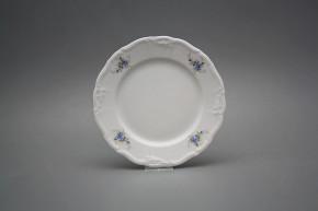 Dessert plate 19cm Marie Louise Light blue roses EBB
