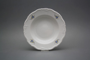 Deep plate 23cm Marie Louise Light blue roses EBB
