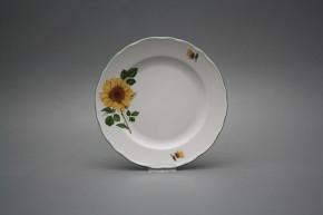 Dessert plate 19cm Rokoko Sunflowers CZL