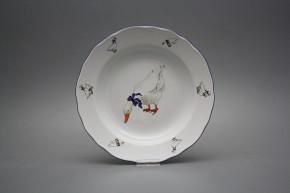 Deep plate 24cm Rokoko Geese FML