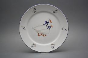 Flat plate 26cm Rokoko Geese FML