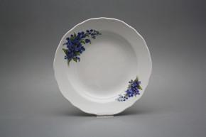 Deep plate 24cm Rokoko Forget-me-not DBB