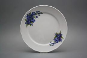 Flat plate 26cm Rokoko Forget-me-not DBB