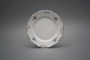Dessert plate 19cm Maria Louise Light blue roses EPL