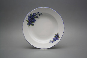 Deep plate 24cm Rokoko Forget-me-not DAL