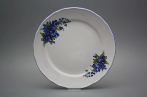 Flat plate 26cm Rokoko Forget-me-not DAL