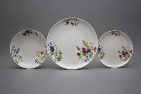 Plate set Tom Flowering meadow 24-piece CBB