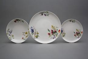 Plate set Tom Flowering meadow 36-piece CBB