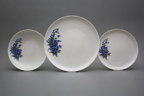 Plate set Tom Forget-me-not 18-piece HBB