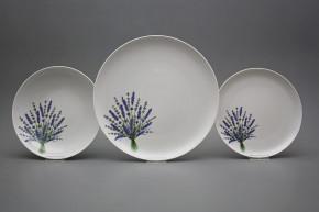 Plate set Tom Lavender 24-piece HBB
