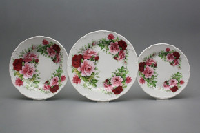 Plate set Ofelia Summer Time 18-piece CvBB
