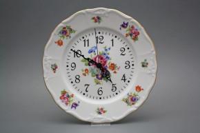 Plate clock Marie Louise Pearl JGL