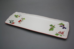 Tray square 45cm Rokoko Forest berries CL