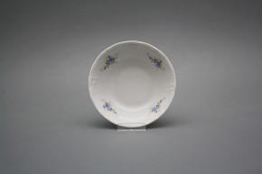 Salad dish 13cm Marie Louise Light blue roses EBB
